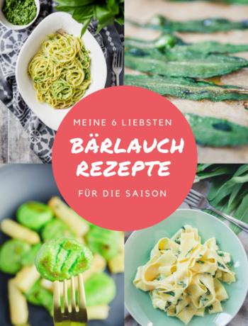 Meine 6 liebsten Bärlauch Rezepte für die Saison - http://kuechenchaotin.de