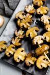 Balsamico-Champignon-Spieße vom Grill - Antipasti vom Grill