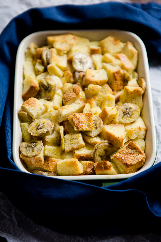 Banana Bread Pudding - www.kuechenchaotin.de
