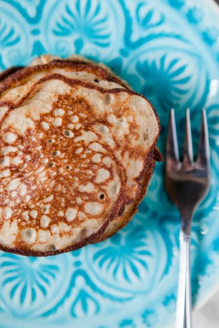 Bananen-Pancakes - www.kuechenchaotin.de