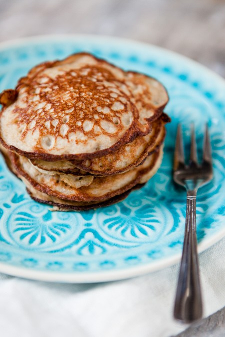 Fit Healthy Friday Gesunde Bananen Pancakes Kuechenchaotin