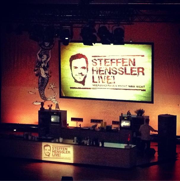 Steffen Hennsslers Bühne