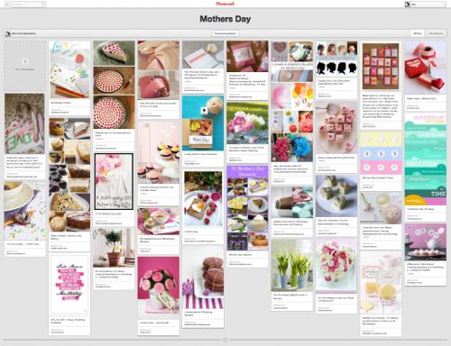 Pinterest-Board Muttertag | kuechenchaotin.de