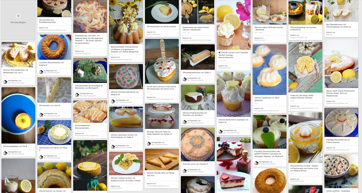 Zitronenkuchen zum Kaffee - die Siegerehrung! - Kuechenchaotin