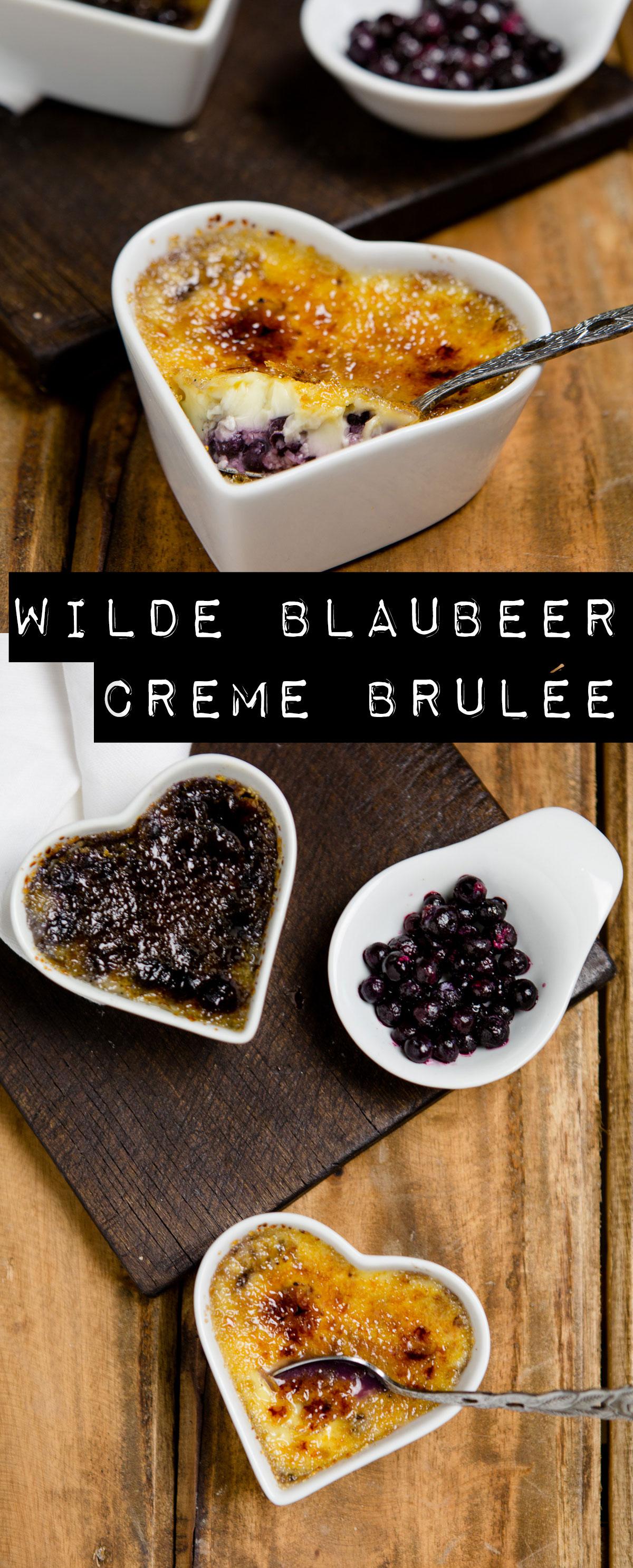 Wilde Blaubeer Creme Brulée - https://kuechenchaotin.de