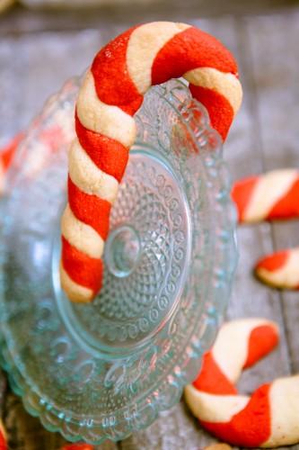 Candy Cane Cookies - www.kuechenchaotin.de