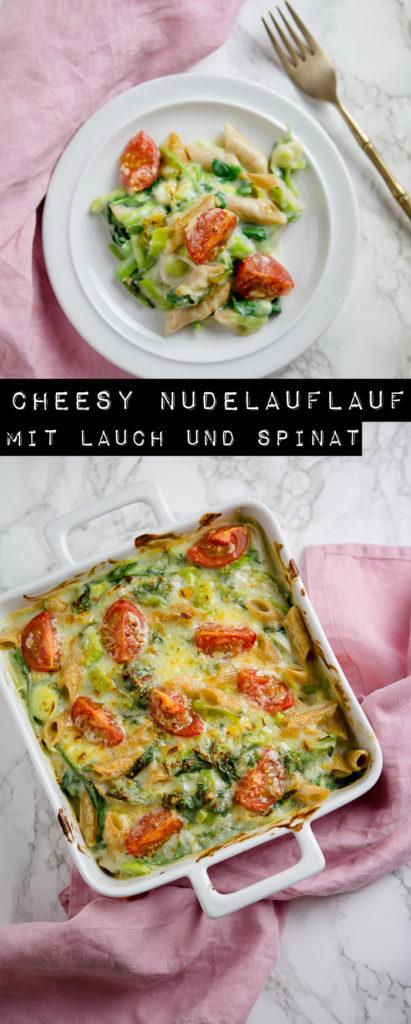 Cheesy Nudelauflauf - www.kuechenchaotin.de