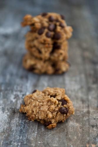 Erdnussbutter-Schokoladen-Haferflockenkekse - kuechenchaotin.de