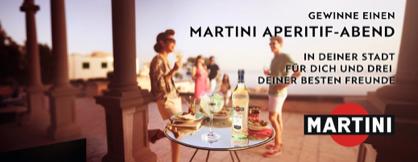 Erster Platz Martini Event
