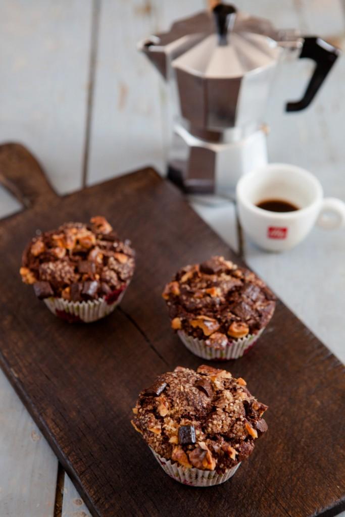 Espresso-Muffins - www.kuechenchaotin.de