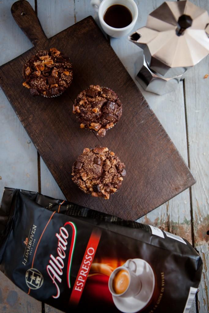 Espresso-Muffins Danke Mamma Alberto