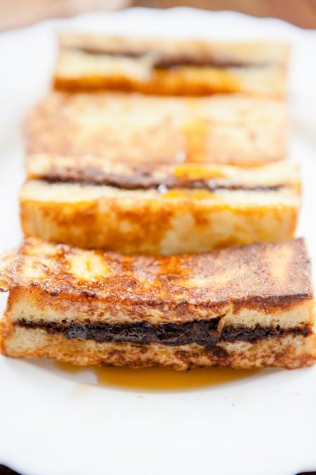 French Toast-Sticks mit Schokocremefüllung - www.kuechechaotin.de