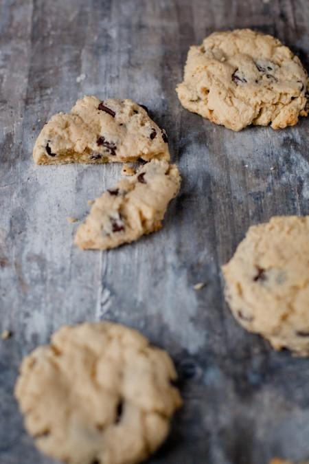 Frischkäse-Cookies mit Schokostückchen - www.kuechenchaotin.de