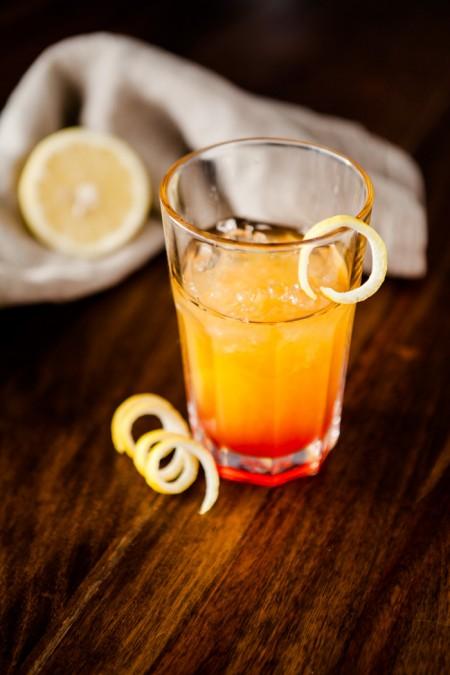 Fruchtiger Cocktail mit Southern Comfort - www.kuechenchaotin.de