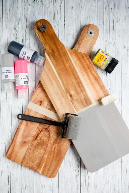 Holzbrett DIY