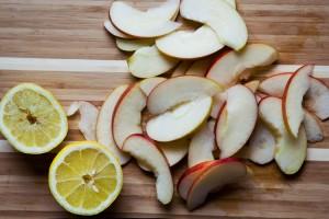 Aepfel und Zitronen