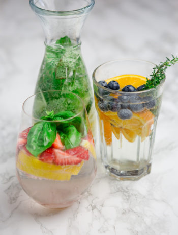 3erlei Infused Water - https://kuechenchaotin.de