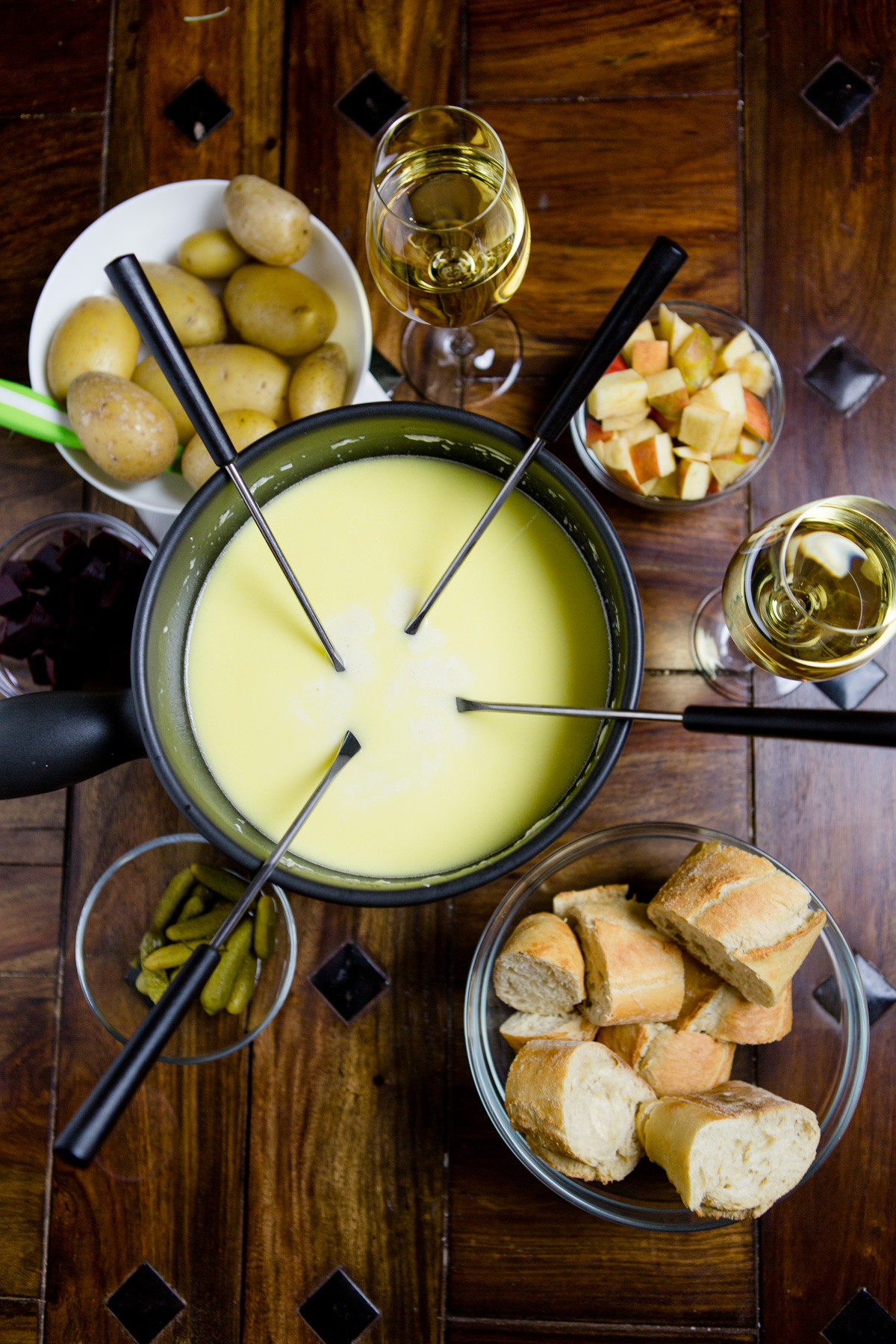 Käsefondue selber machen - einfach und lecker! https://kuechenchaotin.de