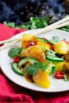 Kartoffelsalat China-Style mit Hoisin-Sauce - ein bisschen Heimat, ein bisschen Ferner Osten