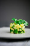 Kartoffelsalat mit Avocado - www.kuechenchaotin.de
