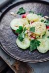 Kartoffelsalat mit Gurken und Radieschen - www.kuechenchaotin.de