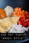 One Pot Pasta Greek Style - www.kuechenchaotin.de