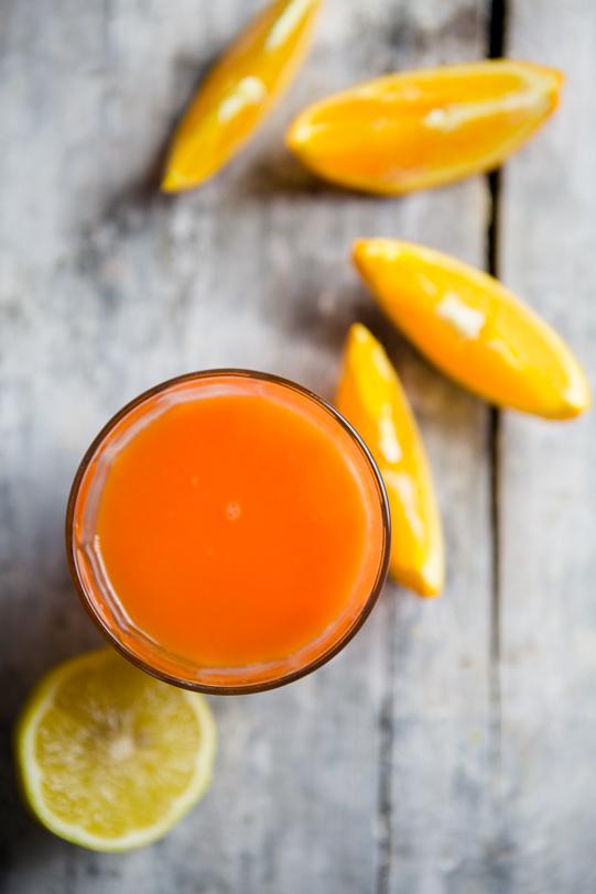 Orangener Guten Morgen Saft - www.kuechenchaotin.de