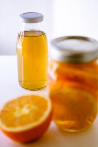 Orangenlikör - www.kuechenchaotin.de
