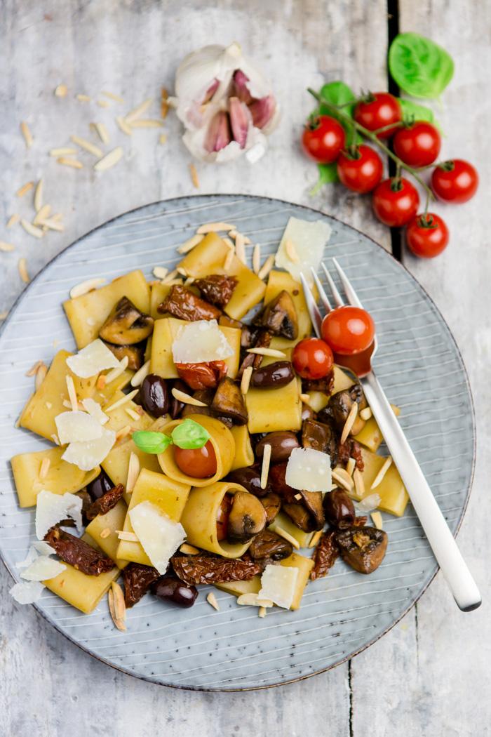 Pasta Alla Antipasti Mit Der Neuen Edeka Selection Pasta Di Gragnano
