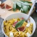 Pasta mit Salbei Feigen und Feta-3