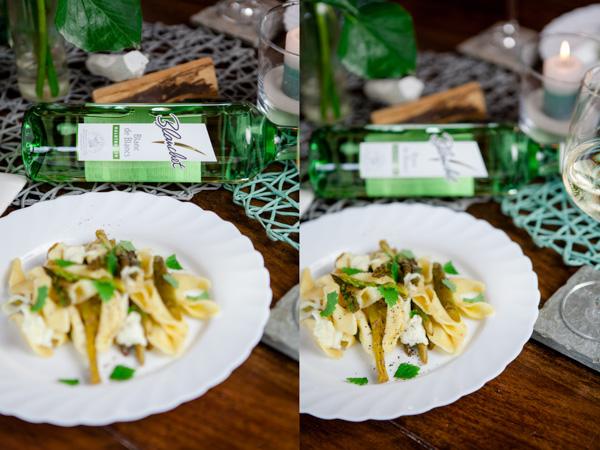 Pasta mit Spargel, Zitrone und Minze-4