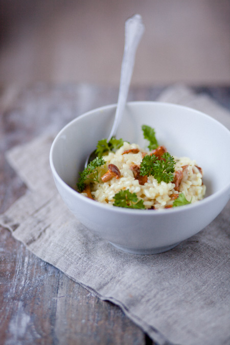 Pfifferlings-Risotto - http://kuechenchaotin.de
