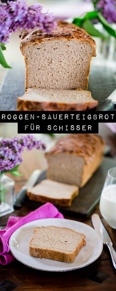 Roggen-Sauerteigbrot selber backen - https://kuechenchaotin.de
