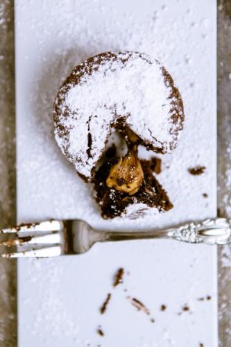 Schokoladenküchlein mit flüssigem Kern - kuechenchaotin.de