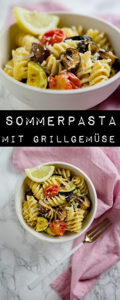 Sommerpasta mit Grillgemüse - www.kuechenchaotin.de
