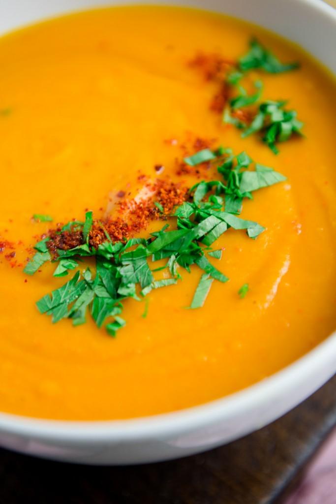 Thai Curry Kürbis-Suppe - www.kuechenchaotin.de