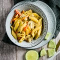 Thai Curry One Pot Pasta - www.kuechenchaotin.de