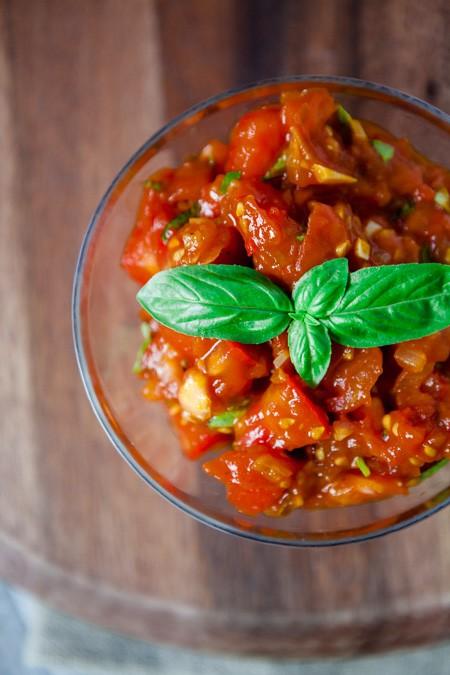 Tomaten-Salsa - www.kuechenchaotin.de