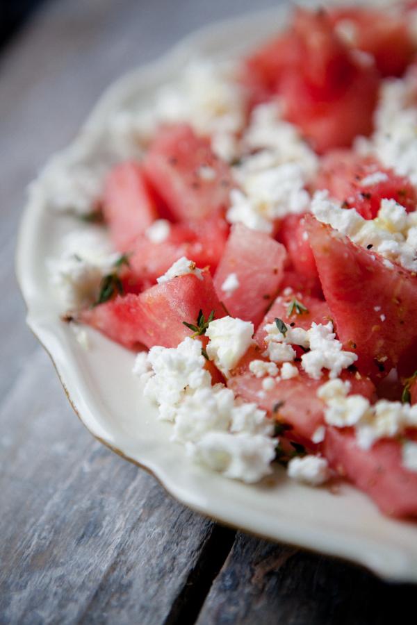 Küchenchaotin Wassermelone Feta Salat ~ salat feta wassermelone beliebte eezepte für nützliche salate