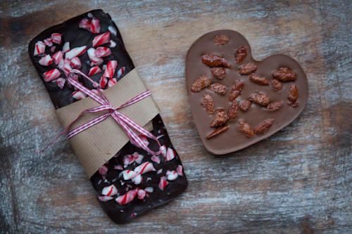 selbstgemachte weihnachtsmarkt schokolade. Black Bedroom Furniture Sets. Home Design Ideas