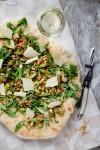 Pizza und Wein - www.kuechenchaotin.de