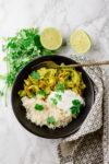 Curry-Wirsing aus dem Ofen - schnell und lecker