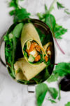 Wraps mit Süßkartoffel, Feta und Avocado - https://kuechenchaotin.de