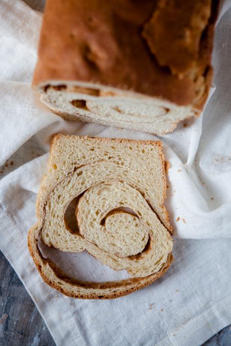 Zimtschnecken-Brot