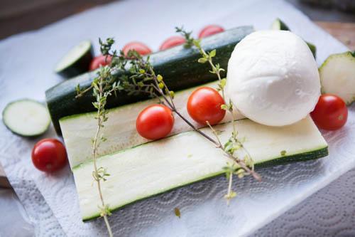 Zucchiniboote
