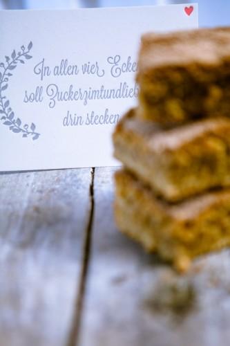 Zucker Zimt und Liebe - Zimtschnitten - www.kuechenchaotin.de