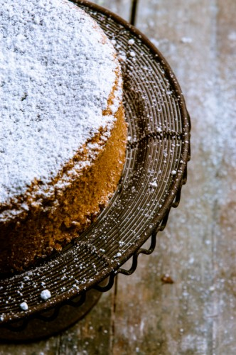 glutenfreier Mandelkuchen mit Orange