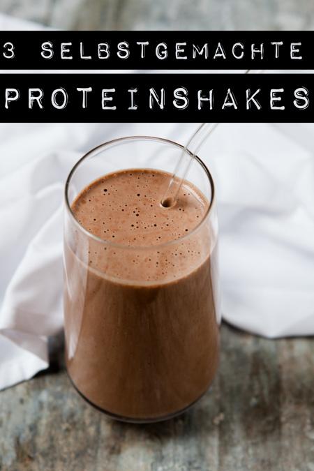 selbstgemachte Proteinshakes - www.kuechenchaotin.de