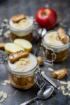 Veganes Bratapfeltiramisu - leckere Tiramisu-Variante mit Äpfeln